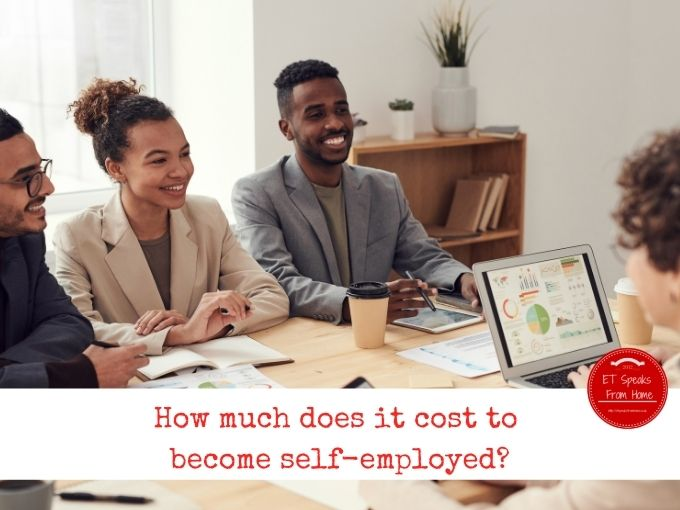 How much does it cost to become self-employed