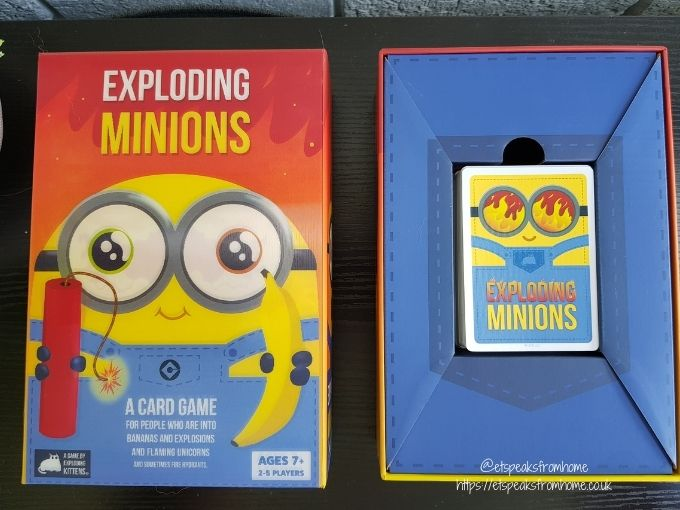 Exploding Minions contents