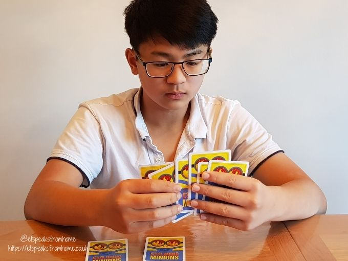 Exploding Minions playing cards