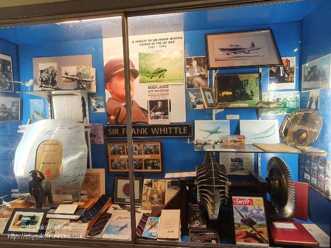 Midland Air Museum sir frank items
