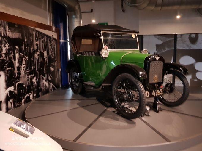 Thinktank Birmingham Science Museum car