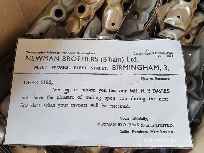 the coffin works letter