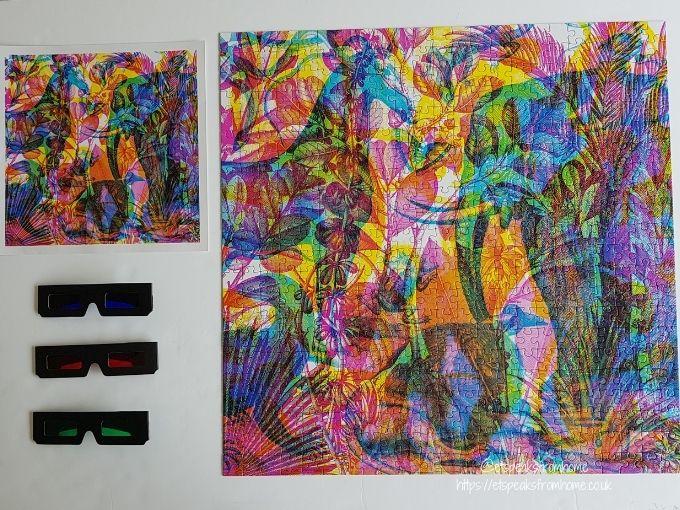 Carnovsky Jungle Jigsaw Puzzle contents