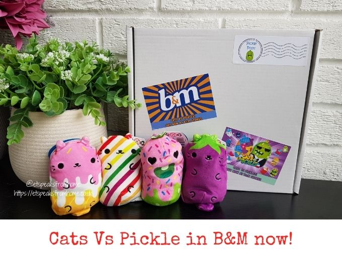cats vs pickles plushies in b&m