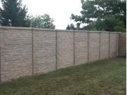 Clôture béton imitation pierre en vente près de Chailles