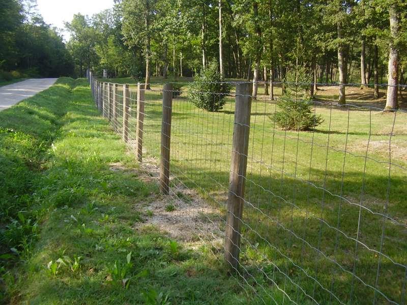 Clôture agricole grands animaux - propriété en sologne
