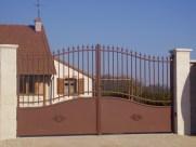 Poser un portail - Ets Thomas Loir et Cher