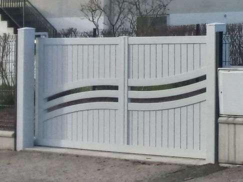 Poser un portail - Ets Thomas Blois