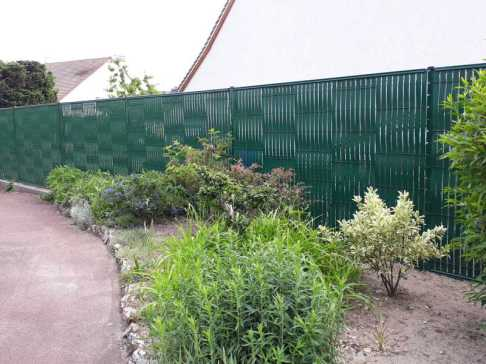 Clôture PVC en KIT