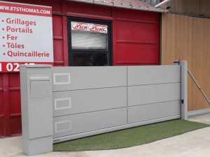 Portails auto portant gamme résidentielle en région Centre