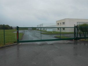 Portail industriel Ets Thomas à Romorantin