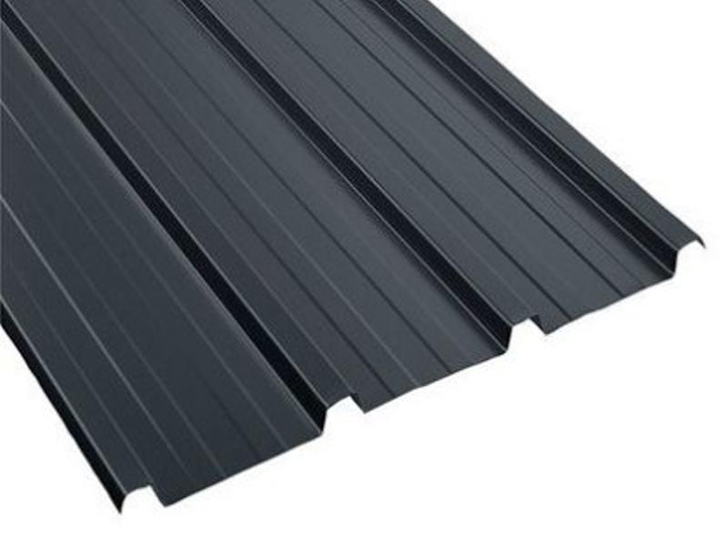 Bac acier pour couverture de toiture et abris de jardin