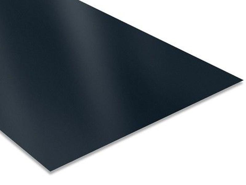 Tôle acier plane noire pour rénovation et réparation