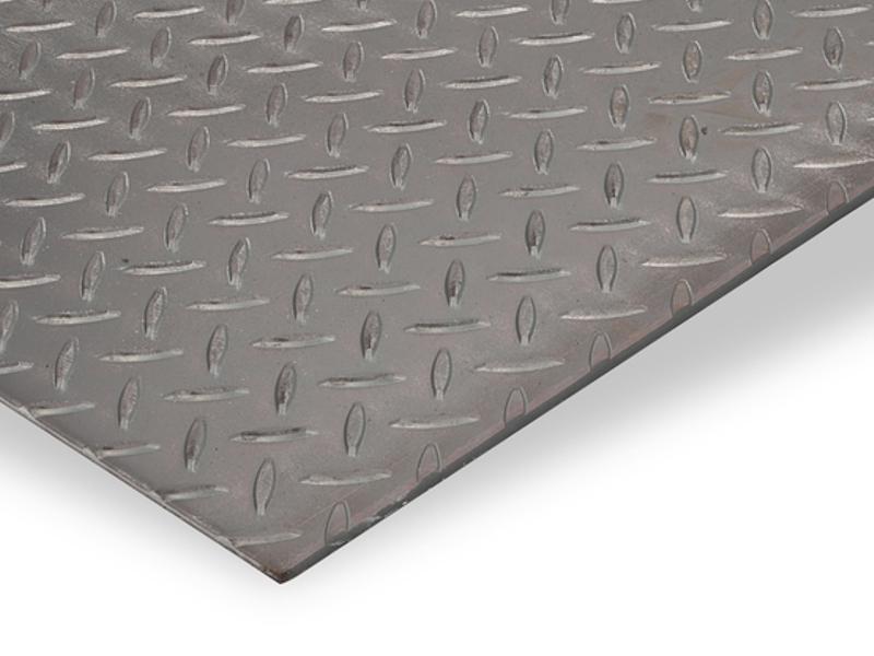 Tôle larmée acier pour habillage mur