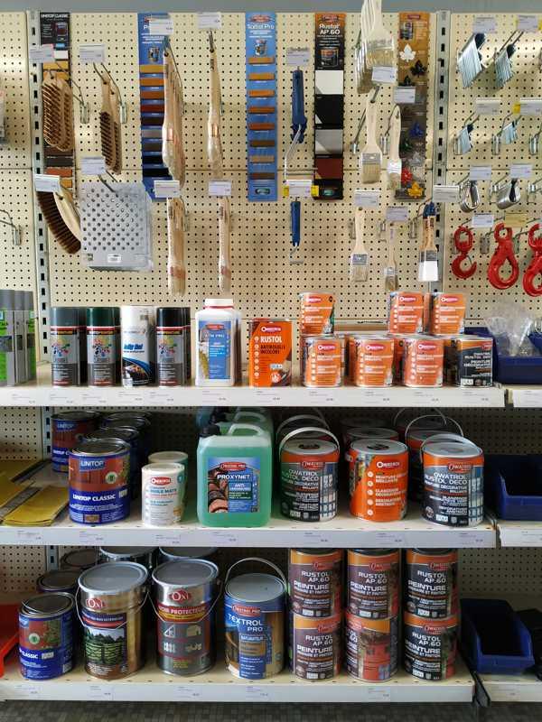 rayon peinture et lasure chez Ets thomas à Neung sur Beuvron