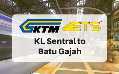 KL Sentral to Batu Gajah