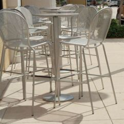 Outdoor Patio Chair Cushions Recliner Small Cast Aluminum Furniture - Iron   Et&t Distributors