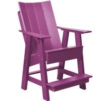 Contemporary High Adirondack Chair   ET&T Distributors, Inc.