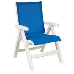Sling Folding Chairs Festival Chair Belize Midback Resin Patio Dining | Et&t Distributors