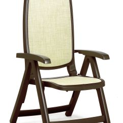 Repair Garden Chairs Travel High Chair Seat Nardi Delta Resin Sling 5 Position Folding Patio