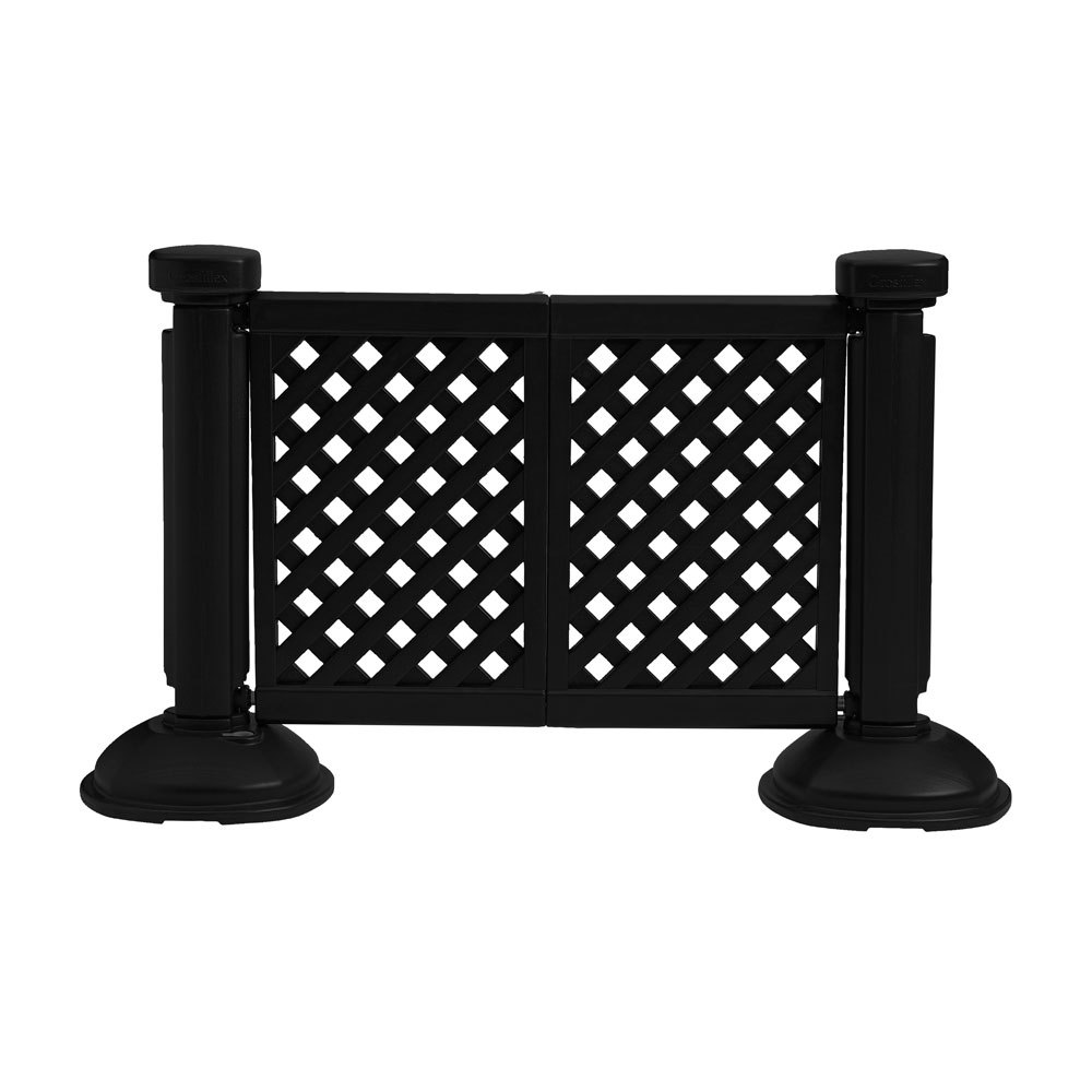 Portable Decorative Patio Fencing Post and Base  ETT