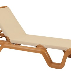 Grosfillex Madras Lounge Chairs Cheap Shower Chair Marina Style Resin Sling Chaise W