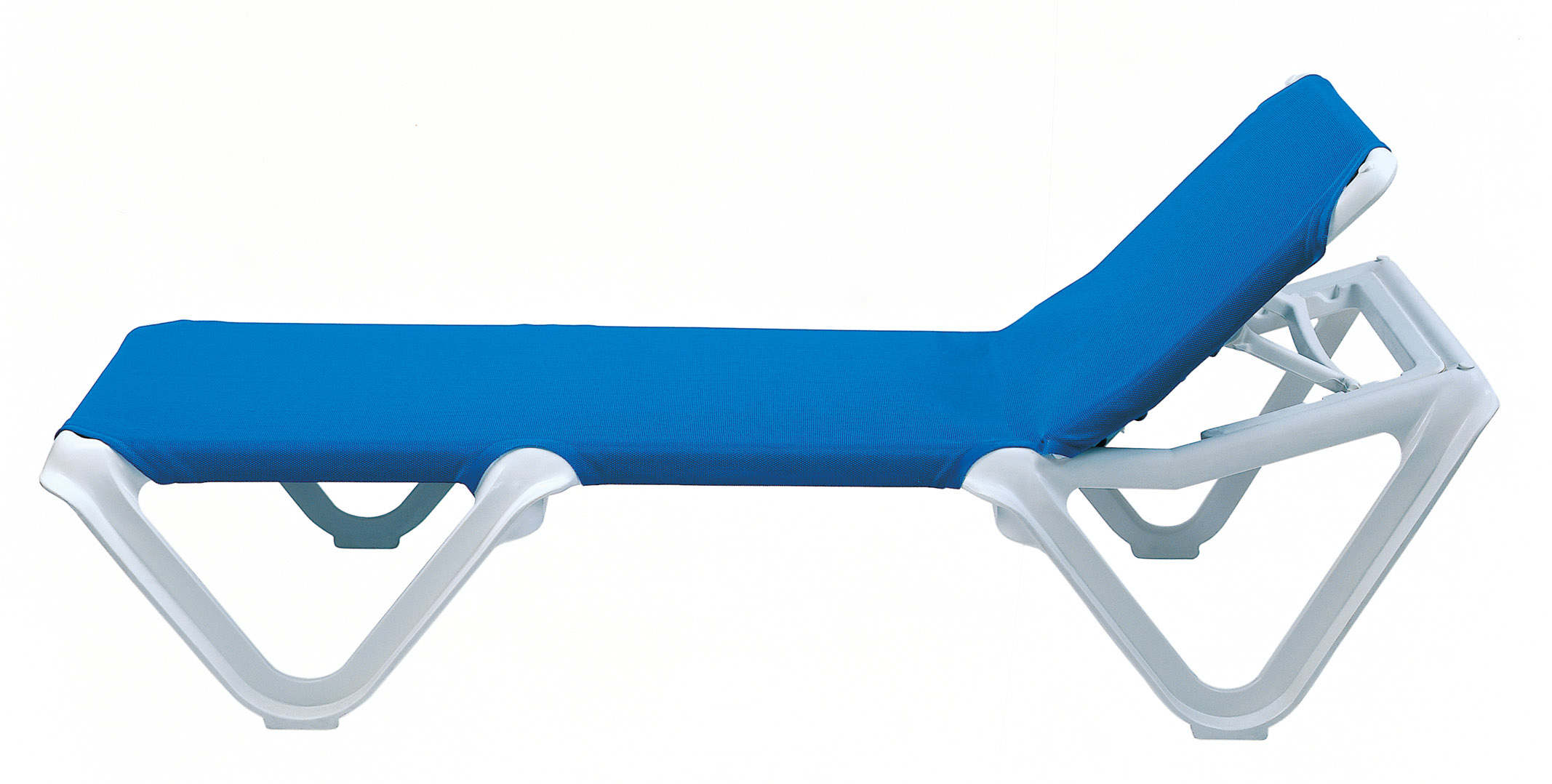 Sling Chaise Lounge Chair Grosfillex Nautical Adjustable Resin Sling Chaise Lounge