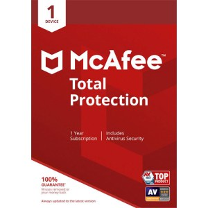 McAfee Total Protection Unlimited Devices 1 Year Multidevice Key GLOBAL