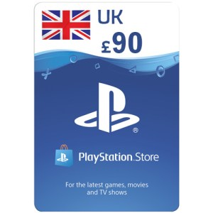 PlayStation Network Gift Card 90 GBP PSN UNITED KINGDOM