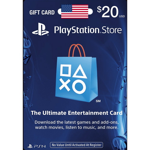 Gift Card 20 USD