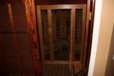 Infra-red sauna at Pilates of Jackson
