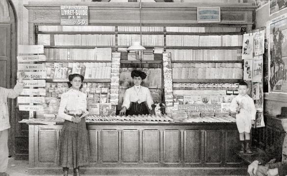 vieille librairie