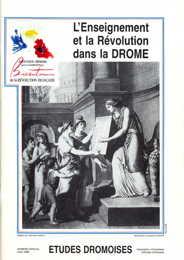 L'enseignement et la révolution dans la Drôme
