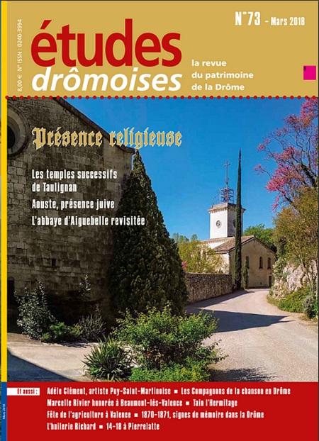 Etudes drômoises 73