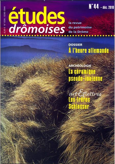 Etudes drômoises 44