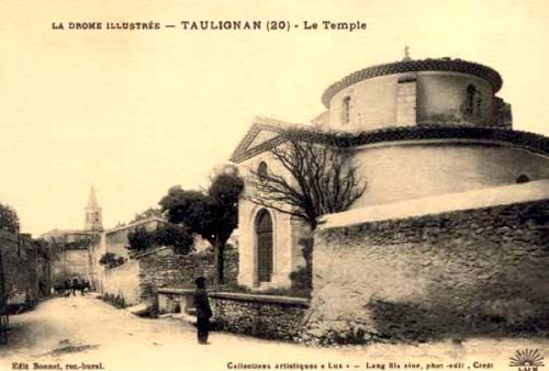 Temple rond au début du XXe siècle