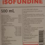composition isofundine