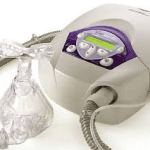Respirateur pour ventilation non invasive + masque à fuites