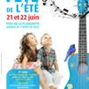 affiche Fête de l'été et Fête de la Musique à Levallois