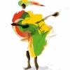 affiche FESTIVAL AFRICAJARC