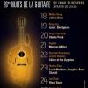 affiche Festival Les Nuits de la Guitare de Patrimonio