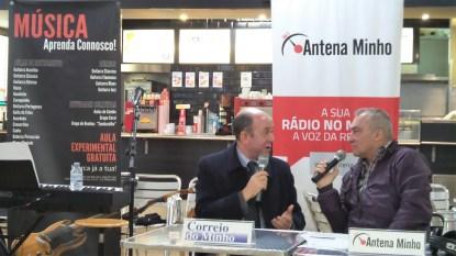 Sr. Vice Presidente da Câmara de Braga em Antena Minho