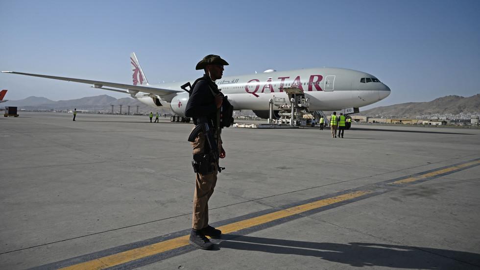 First international passenger flight flies out of Kabul airport 1