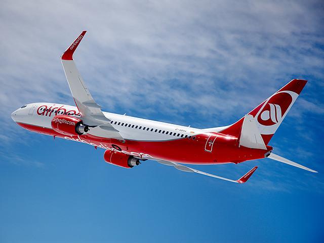 Dänische Staatsangestellte fliegen mit Air Berlin