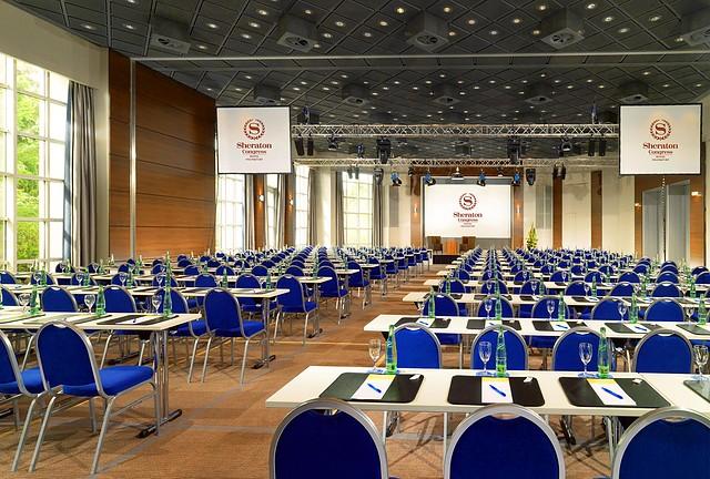 Das Sheraton Congress Hotel Frankfurt eröffnet renoviertes Veranstaltungszentrum