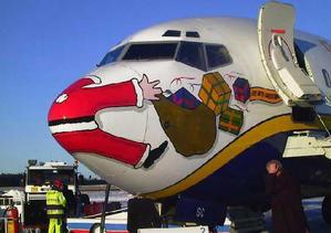 Der Weihnachtsmann fliegt Finnair