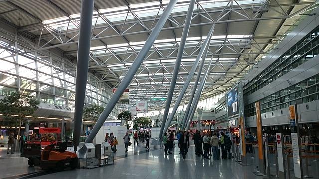 Technische Störung der Gepäckförderanlage am Flughafen Düsseldorf