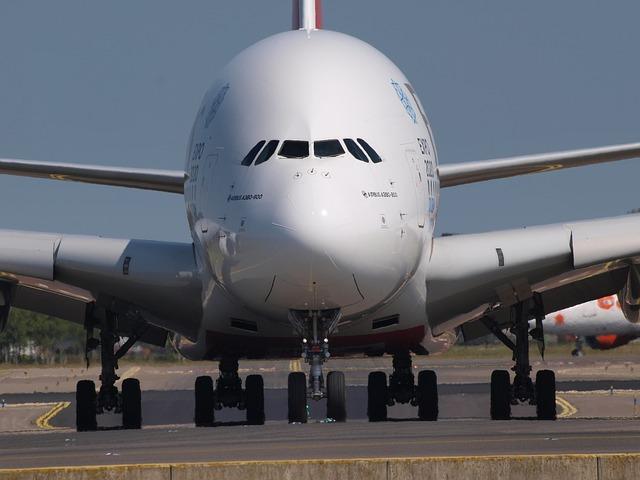 2,8 % der Auslandspassagiere flogen 2018 in einem A380