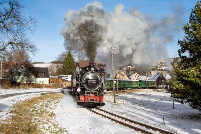 Dampfzugfahrt ins Suppenland