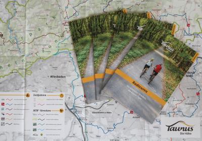 Touristische Radkarte für die Freizeitregion Taunus erschienen